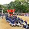 迫力ある白羽神社秋祭り