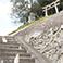 安産の神様が祀られている豊玉姫神社
